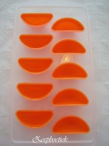 Deze rubberen zeepmal Sinasappel is verstevigd met hard